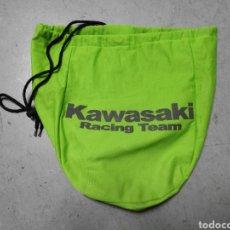 Segunda Mano: FUNDA PORTA CASCOS KAWASAKI. BOLSA PARA CASCO DE MOTO. Lote 229963070