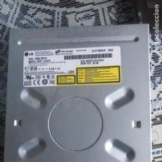 Segunda Mano: REGRABADORA CD/DVD INTERNA LG CONEXION IDE/PATA. Lote 230155130
