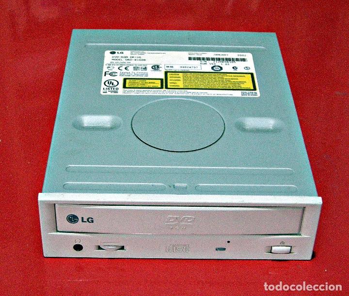 LECTOR DE DVD PARA ORDENADOR. MARCA: LG. (Segunda Mano - Artículos de electrónica)