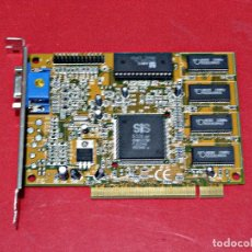 D'Occasion: TARJETA GRÁFICA SIS 6326 PCI 4 MB. Lote 234365350