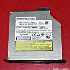 D'Occasion: GRABADORA DE CD PANASONIC UJDA740 24X SLIM COMBO 24X DVD-ROM/CD-RW IDE PARA ORDENADOR PORTÁTIL.. Lote 234464955