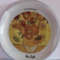 Segunda Mano: PLATO DECORATIVO LOS GIRASOLES-VAN GOGH. Lote 234915915