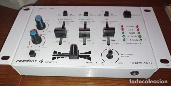 RESIDENT DJ MIXER - ELECTRONIC STAR - (Segunda Mano - Artículos de electrónica)