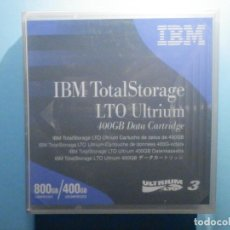 Segunda Mano: LTO ULTRIUM - IBM TOTAL STORAGE - 800 - 400 GB DATA CARTRIDGE - CARTUCHO PARA DATOS - PRECINTADO. Lote 235369920