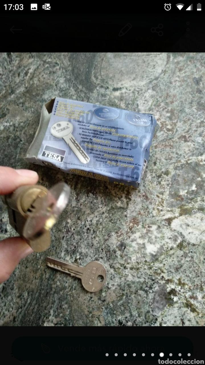 Segunda Mano: Cerradura Tesa T-60 con dos llaves - Foto 4 - 236189270