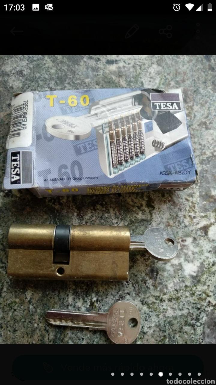 Segunda Mano: Cerradura Tesa T-60 con dos llaves - Foto 5 - 236189270