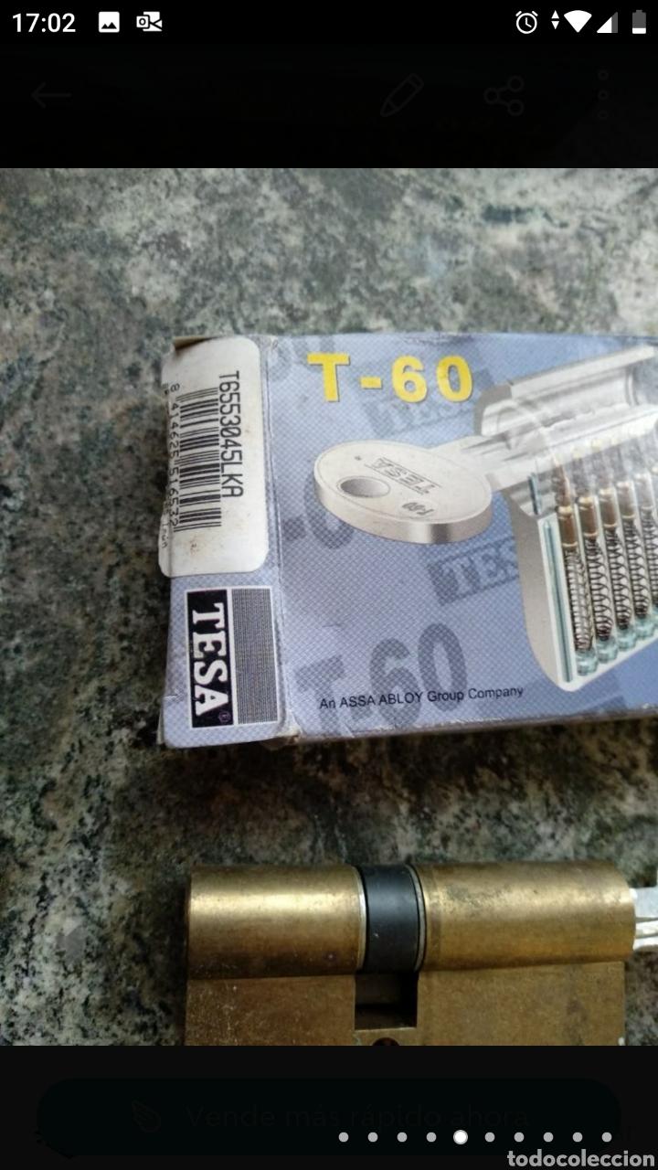 Segunda Mano: Cerradura Tesa T-60 con dos llaves - Foto 6 - 236189270