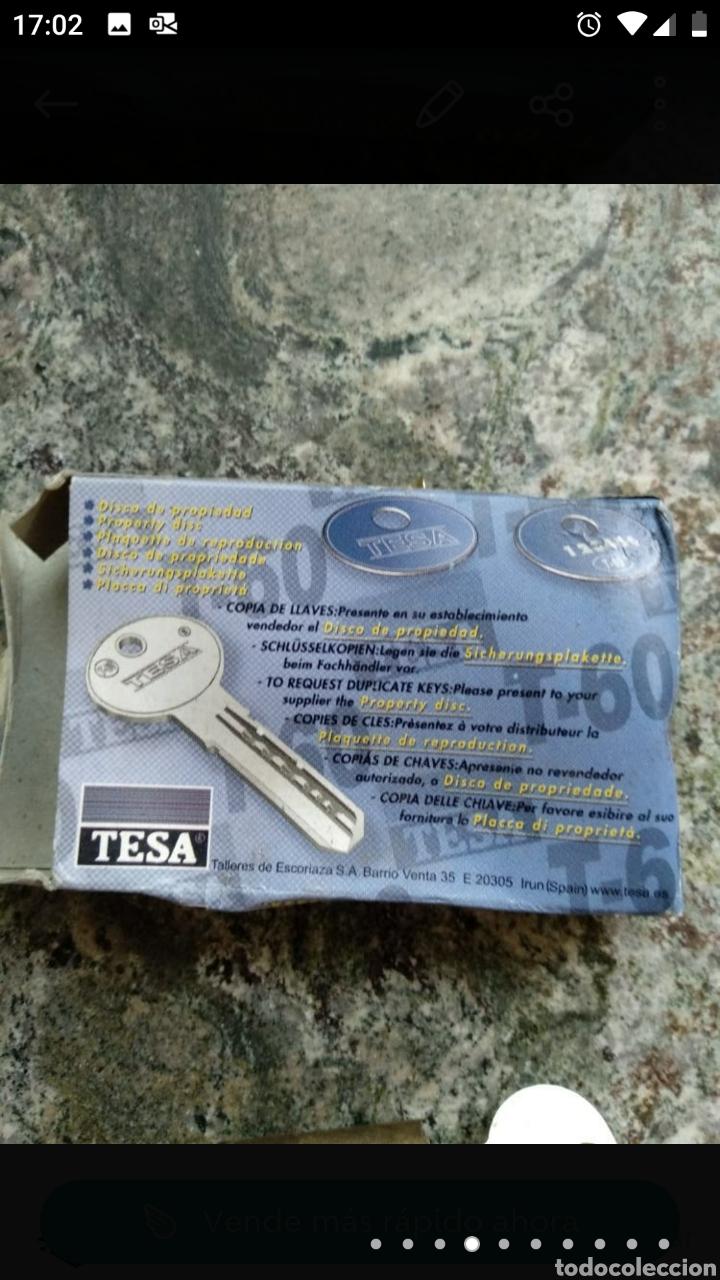 Segunda Mano: Cerradura Tesa T-60 con dos llaves - Foto 7 - 236189270