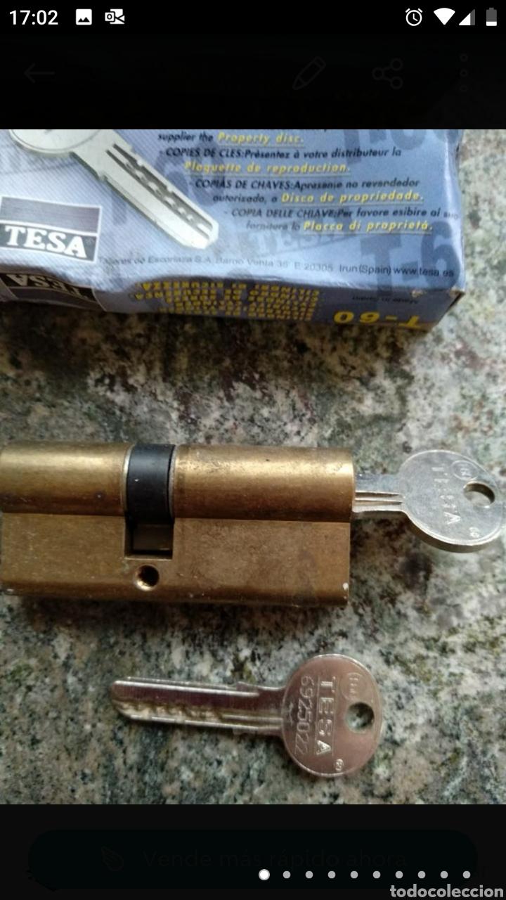 Segunda Mano: Cerradura Tesa T-60 con dos llaves - Foto 9 - 236189270