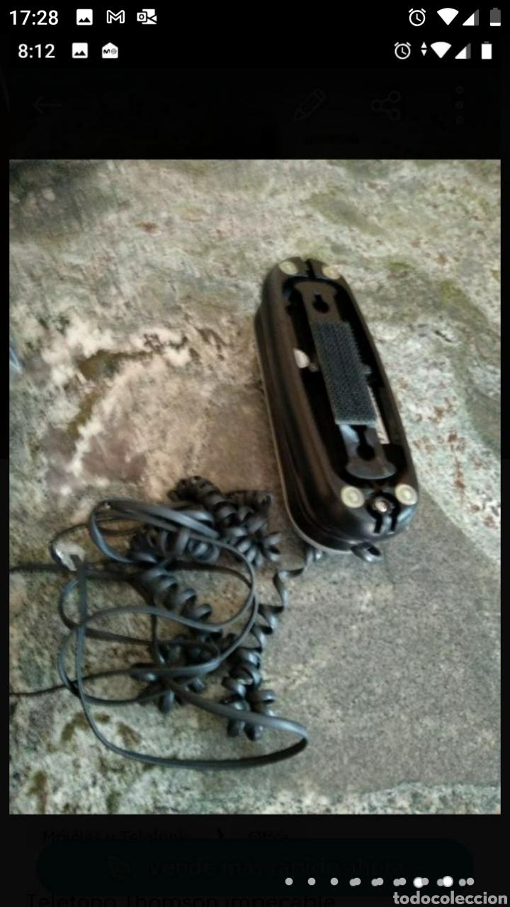 Segunda Mano: Teléfono fijo y accesorio baño papel - Foto 2 - 236198450