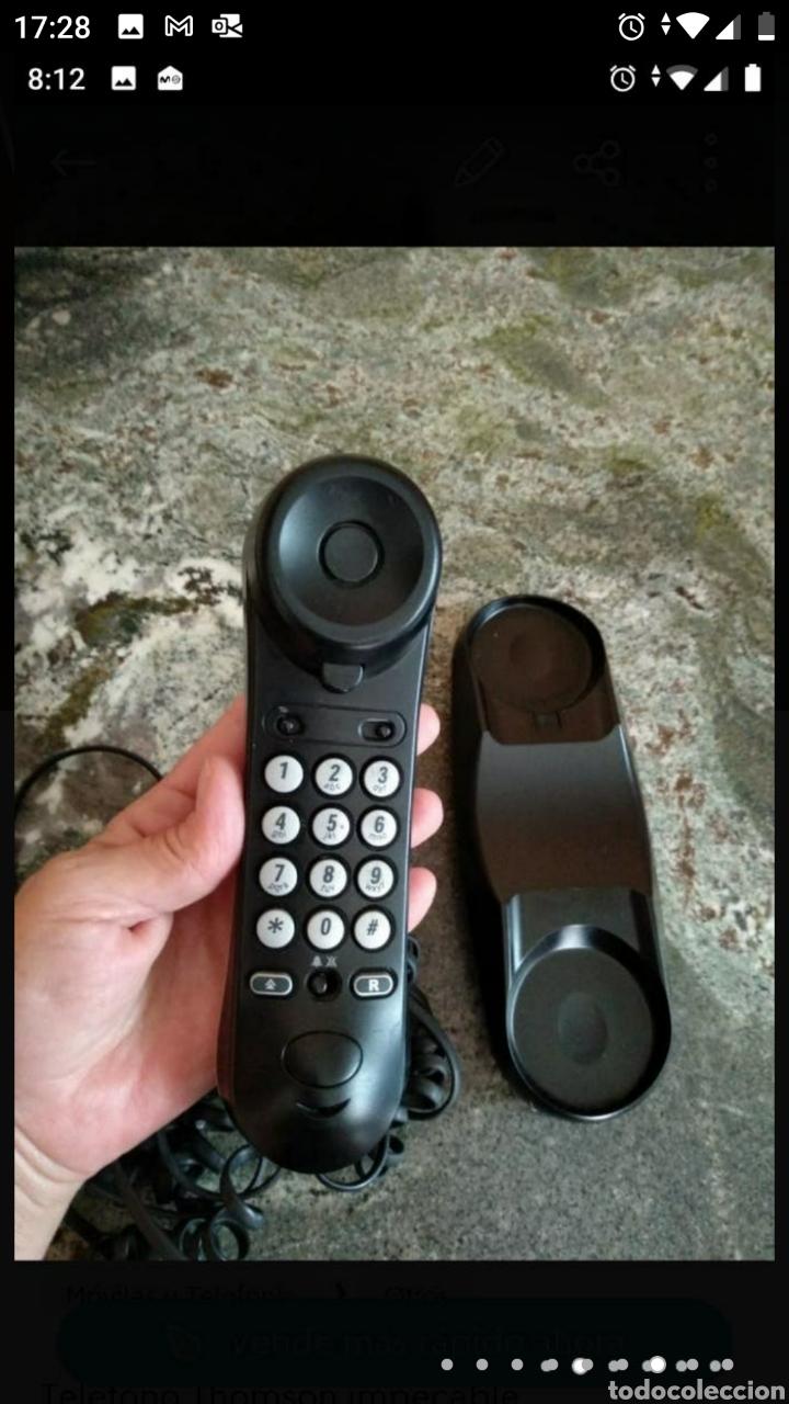 Segunda Mano: Teléfono fijo y accesorio baño papel - Foto 3 - 236198450