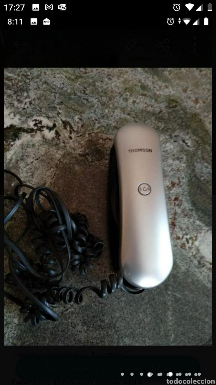 Segunda Mano: Teléfono fijo y accesorio baño papel - Foto 4 - 236198450