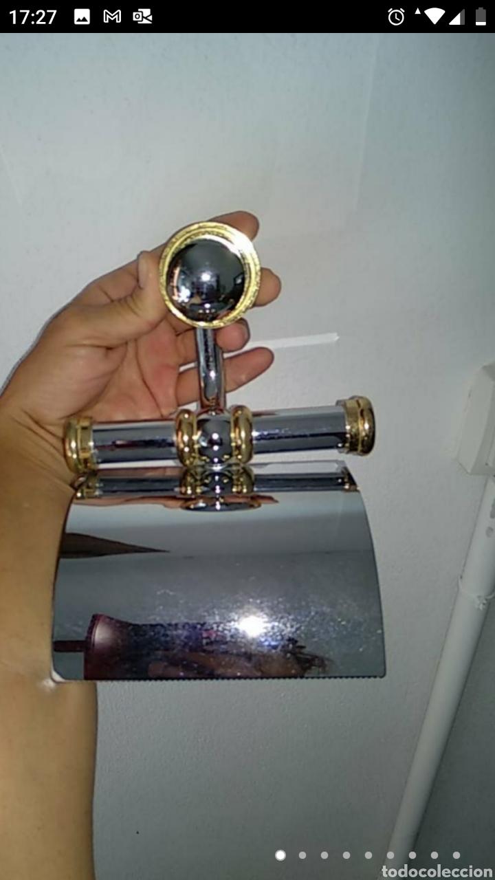 Segunda Mano: Teléfono fijo y accesorio baño papel - Foto 9 - 236198450