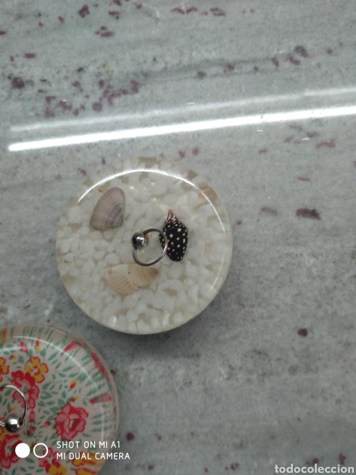 Segunda Mano: Accesorios baño y 2 tapones decorativos lavabo - Foto 14 - 236197530