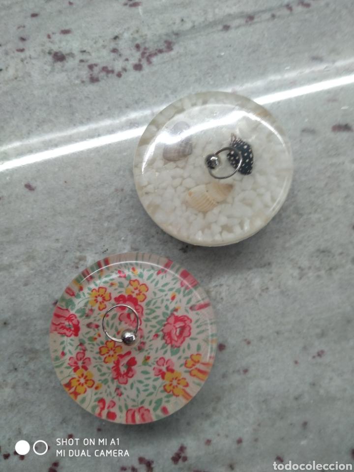 Segunda Mano: Accesorios baño y 2 tapones decorativos lavabo - Foto 16 - 236197530