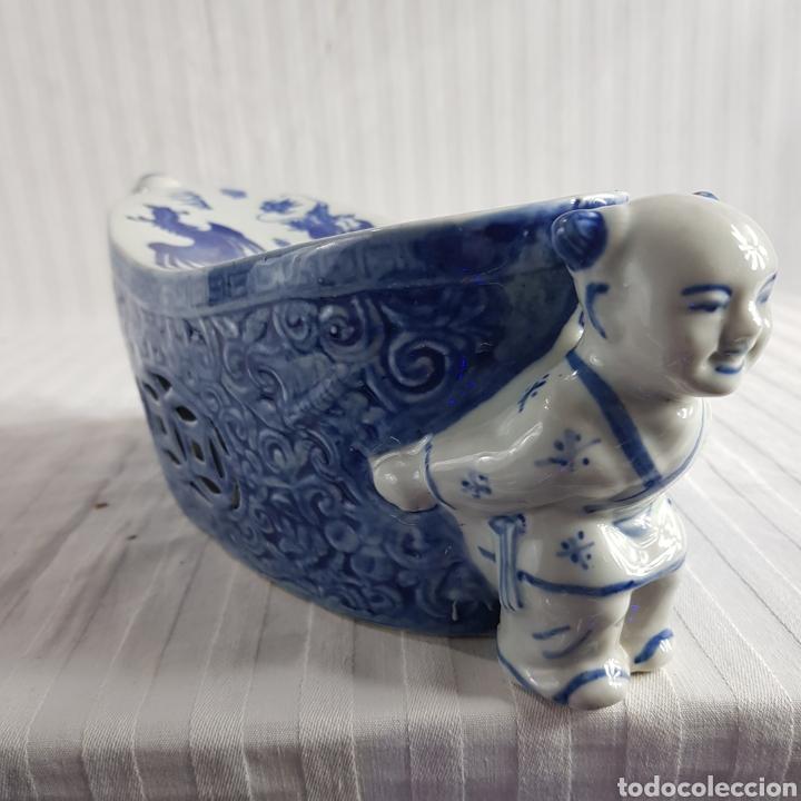 Segunda Mano: Jarrón Porcelana China med.fin. s.XX - Foto 5 - 236319355