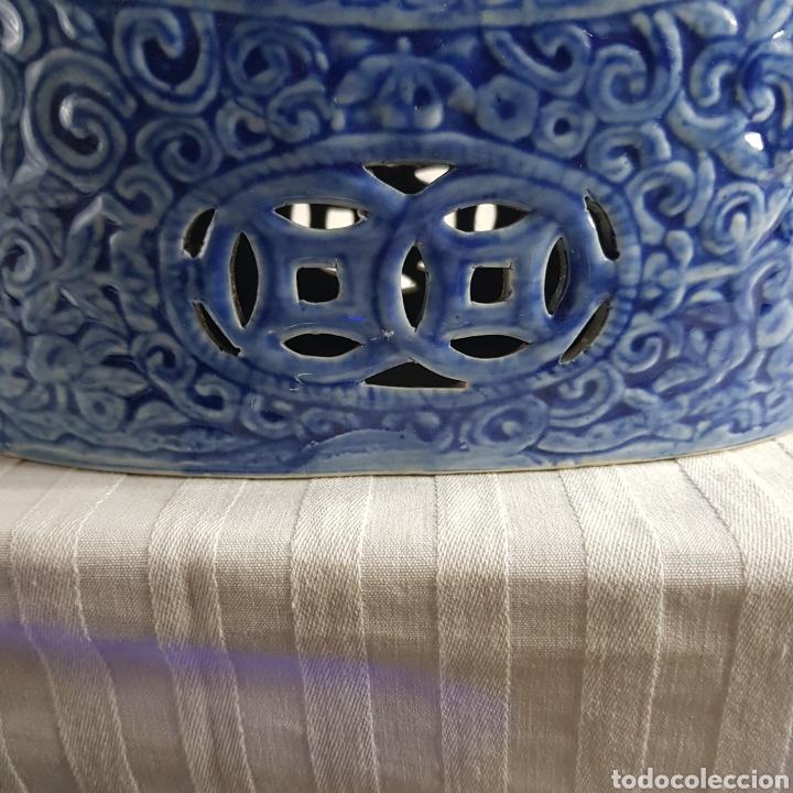 Segunda Mano: Jarrón Porcelana China med.fin. s.XX - Foto 6 - 236319355