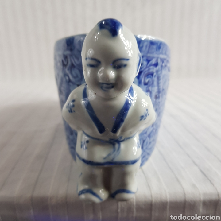 Segunda Mano: Jarrón Porcelana China med.fin. s.XX - Foto 7 - 236319355