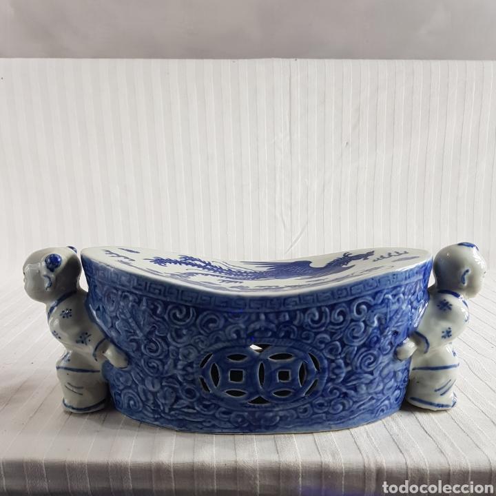 JARRÓN PORCELANA CHINA MED.FIN. S.XX (Segunda Mano - Hogar y decoración)