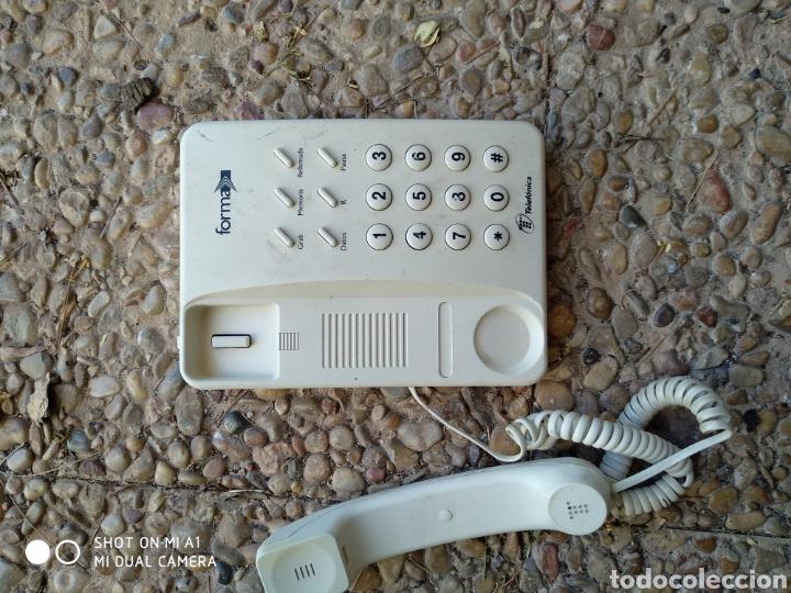Segunda Mano: Antiguo teléfono forma blanco - Foto 5 - 236522775