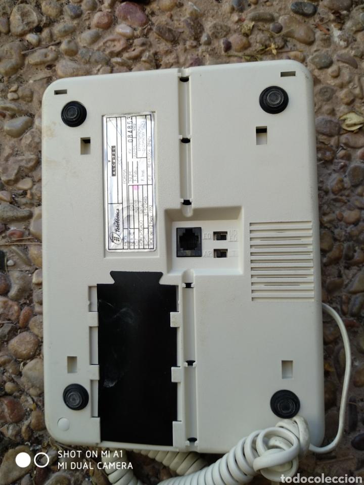 Segunda Mano: Antiguo teléfono forma blanco - Foto 6 - 236522775
