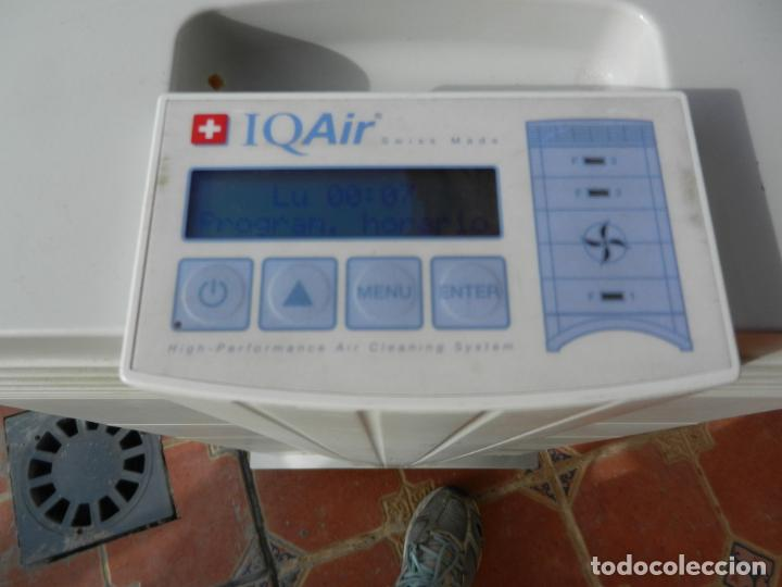 Segunda Mano: PURIFICADOR DE AIRE IQ AIR HEALTH PRO - SUIZA - FILTRACIÓN HYPERHEPA - 99.5% EFICAZ-FUNCIONANDO. - Foto 3 - 236537690
