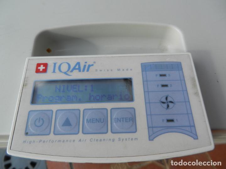 Segunda Mano: PURIFICADOR DE AIRE IQ AIR HEALTH PRO - SUIZA - FILTRACIÓN HYPERHEPA - 99.5% EFICAZ-FUNCIONANDO. - Foto 10 - 236537690