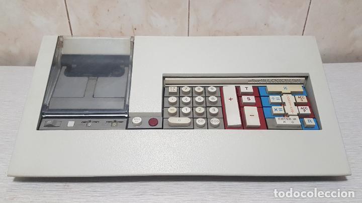 CALCULADORA DE MESA OLIVETTI LOGOS 58 VINTAGE 1974 (Segunda Mano - Artículos de electrónica)