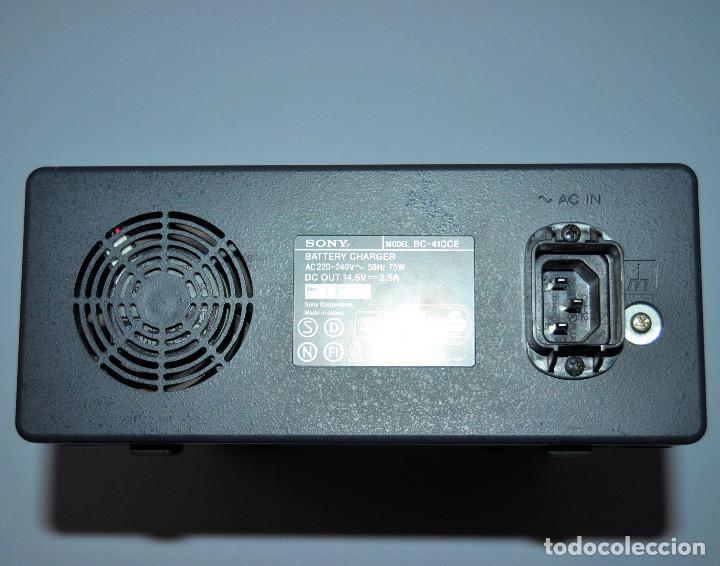 Segunda Mano: SONY Cargador de baterías BC - 410CE - Foto 3 - 237026010