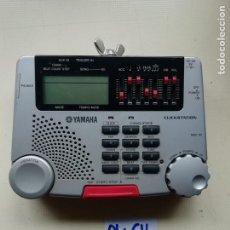 Segunda Mano: YAMAHA CLST-100 CLICKSTATION METRÓNOMO DIGITAL. Lote 237299595