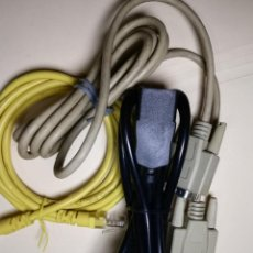 Segunda Mano: CABLES INFORMATICA Y ELECTRONICA (VER DESCRIPCION). Lote 237367490