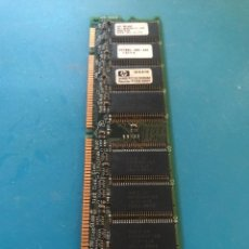 Segunda Mano: MEMORIA PC HP SDRAM 64MB PC133. Lote 240062770