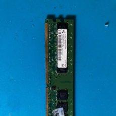 Segunda Mano: MEMORIA RAM DDR2 667MHZ 1GB HP CERTIFICADA. Lote 240359250