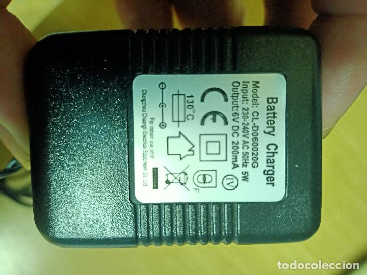 Segunda Mano: Transformador cargador 6 V - 200 mA - Foto 2 - 241683650
