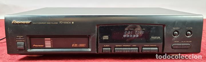 REPRODUCTOR DE CD. PIONEER PD-M406. CARGADOR PARA 6 CD'S. MALASIA. CIRCA 1990. (Segunda Mano - Artículos de electrónica)