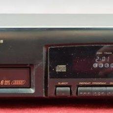 Segunda Mano: REPRODUCTOR DE CD. PIONEER PD-M406. CARGADOR PARA 6 CD'S. MALASIA. CIRCA 1990.. Lote 242251215