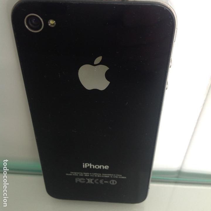 Segunda Mano: Teléfono iPhone 4. Funciona. No tiene ascesorios - Foto 2 - 242406885