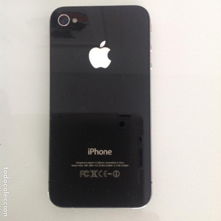 Segunda Mano: Teléfono iPhone 4. Funciona. No tiene ascesorios - Foto 3 - 242406885