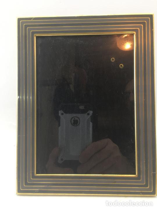 MARCO PORTA FOTO PARA SOBREMESA - METAL - INTERIOR 17 X 12 CM - REF. MAR-04 (Segunda Mano - Hogar y decoración)