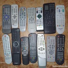 Segunda Mano: MANDOS TV.LOTE.TELEVISOR.SHARP.AIRIS.GRUNDIG.PHILIPS.SAMSUNG.HUMAX.LO MONACO.VOLCASAT.ETC. Lote 243474020