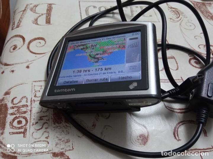 Segunda Mano: TomTom One con Bluetooth + cargador coche + tarjeta memoria - Foto 2 - 243665085