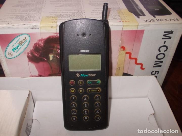Segunda Mano: Antiguo teléfono Bosch M-Com 506, la base enciende pero el teléfono no - Foto 7 - 243983405