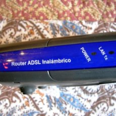 Segunda Mano: ROUTER ADSL DECODIFICADOR INALAMBRICO MOVISTAR. Lote 244493995