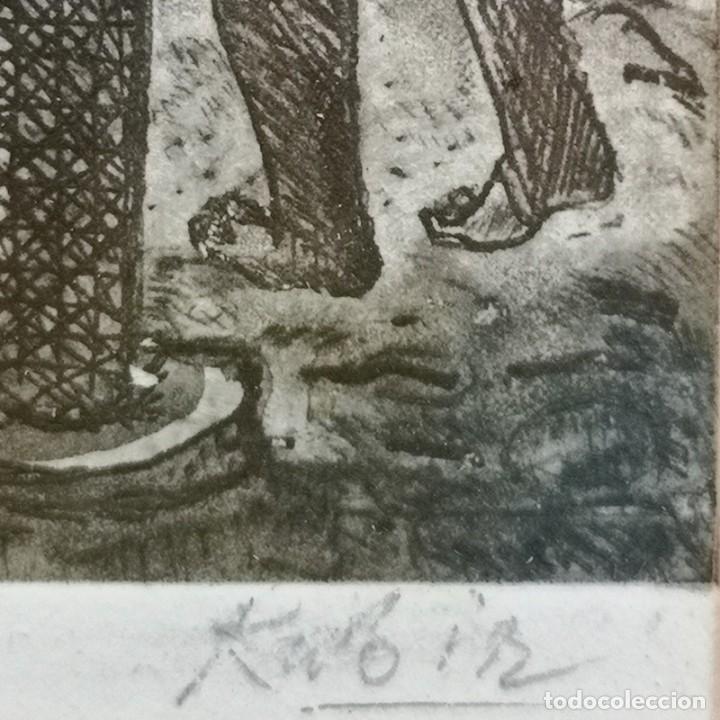 Segunda Mano: Pareja de Grabados de Shaid Kabir - Foto 4 - 245257630