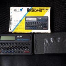 Segunda Mano: TRADUCTOR ESPAÑOL- INGLES Y CALCULADORA SEIKO TR-2200. Lote 245375455