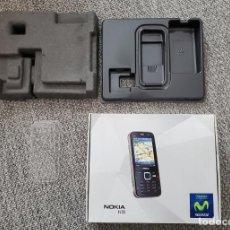 Segunda Mano: CAJA VACIA EMPTY BOX NOKIA 5800 ONLY BOX INCLUYE INSERTS ORIGINAL. Lote 245433145