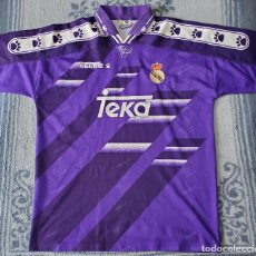 Segunda Mano: CAMISETA REAL MADRID KELME 1994 95 HIERRO LAUDRUP BUITRE RAUL. Lote 245433830