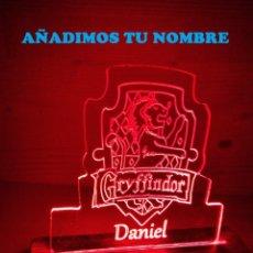 Segunda Mano: CUADRO LÁMPARA LED LUMINOSO CASA GRYFFINDOR DE HARRY POTTER. Lote 246078120