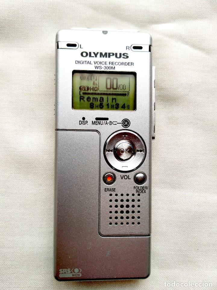 GRABADORA DIGITAL OLYMPUS - VOZ Y MÚSICA (AMBAS EN STEREO) - MEMORIA FLASH - USB (Segunda Mano - Artículos de electrónica)
