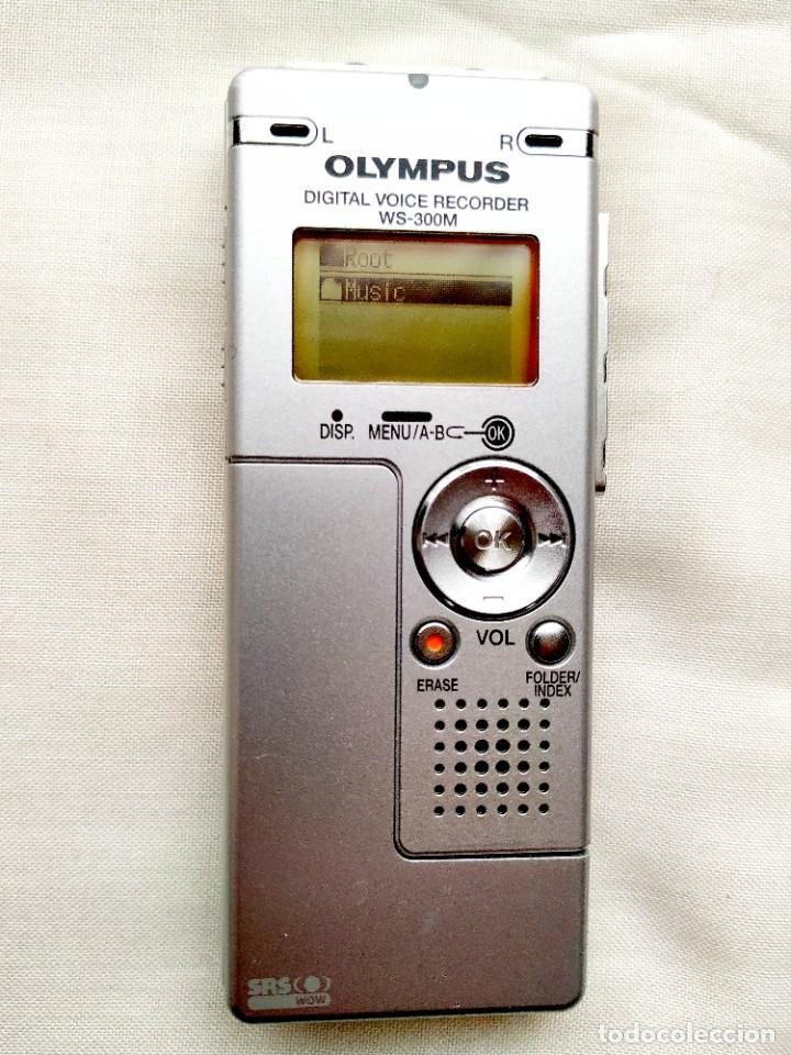 Segunda Mano: GRABADORA DIGITAL OLYMPUS - VOZ Y MÚSICA (AMBAS EN STEREO) - MEMORIA FLASH - USB - Foto 2 - 246132480